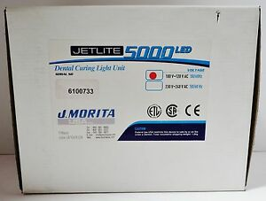 Jetlite 5000 Led Dental Curing Light Unit J morita 100 120 V Ac 50 60hz