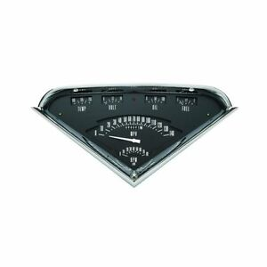 Classic Instruments 1955 1959 Chevy Truck Tach Vintage Gauge Package Black