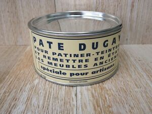 Pate Dugay Antique Restoration Wax France Orange Brown Rustique Dore