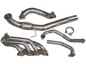 Turbo Manifold Downpipe For Civic Integra Dc5 Rsx K20 Sidewinder T3 38mm