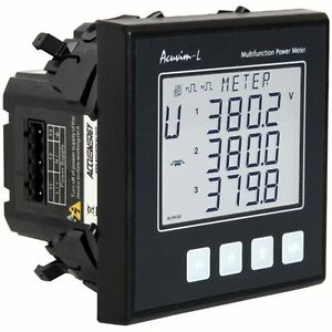 Accuenergy Acuvim al d 5a p1 Multifunction Lcd Power Meter 100 415vac 50 60hz