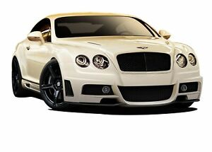 03 10 Bentley Continental Gt Gtc Af 1 Body Kit gfk 4pc 109389