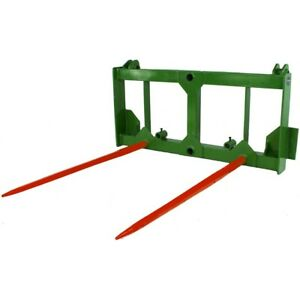 Titan 49 Hd Hay Spear Attachment Stabilizers Fits John Deere 200 300 400