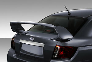 08 11 Impreza 4dr 08 15 Wrx Sti Duraflex Sti Wing Spoiler 1pc Body Kit 109033