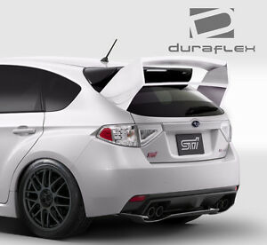 08 11 Impreza 5dr 08 14 Wrx Sti 5dr Wrc Look Wing Spoiler 1pc Body Kit 108705