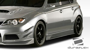 08 14 Impreza Sti 11 14 Impreza Wrx Duraflex Vrs Side Skirts 4pc Body Kit 107871