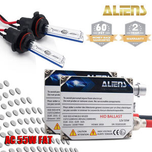 Aliens Ac 55w Hid Conversion Kit H1 H4 H7 H10 H11 H13 9005 9006 9007 Xenon Light