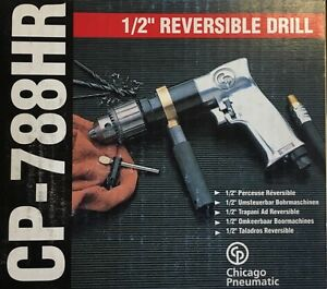 Chicago Pneumatic 1 2 Reversible Drill Cp788hr