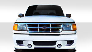 93 97 Ford Ranger Duraflex Bt 1 Front Bumper 1 Piece Body Kit 112054