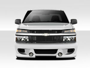 04 12 Chevrolet Colorado Duraflex Bt 1 Front Bumper 1 Piece Body Kit 112005
