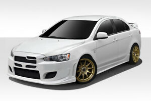 08 17 Mitsubishi Lancer 4dr Duraflex I spec 4 Piece Body Kit 108778