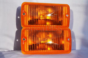 Front Corner Turn Signal Parking Light Lamps One Pair For 2001 2006 Wrangler