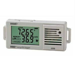 Onset Hobo Ux100 003 Temperature Relative Humidity Lcd Data Logger