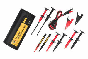 Fluke Tlk 225 Suregrip Master Accessory Set Leads Probes In Roll up Pouch