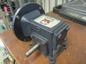 Leeson Ironman Speed Reducer W6130079 Ratio 30 1 Input 0 32hp Used