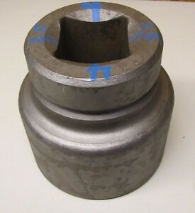 Proto 4 25064 4 Hex 6 Point 2 1 2 Square Drive Steel Impact Socket