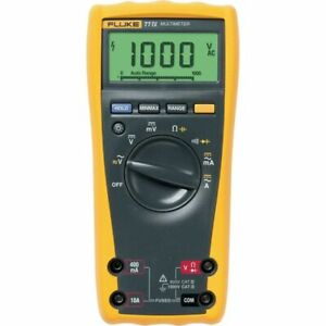 Fluke 77 4 77 iv Digital Industrial Multimeter 1000v 10a Ac dc