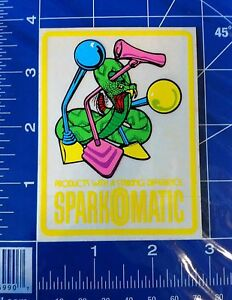 Nos Sparkomatic Shifter Sticker Decal Very Rare