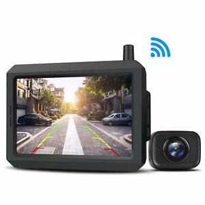 Auto vox W7 Wireless Car Rear View System 5 Lcd Monitor Backup Reversing Camera