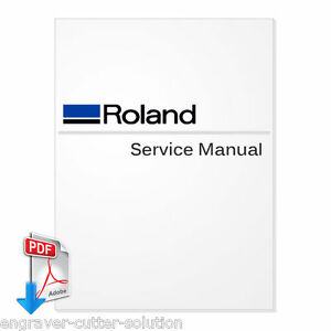 Roland Soljet Pro 4 Xr 640 Service Manual For Large Format Printers pdf