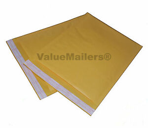 100 5 Vm Terminator Kraft Bubble Mailers Envelopes 10 5x16 200 9x12 Bags