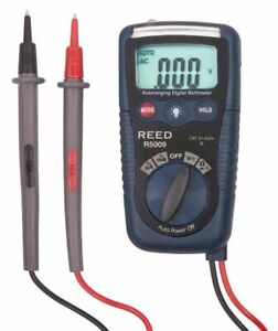 Reed R5009 Handheld Compact Multimeter non contact Voltage Detector