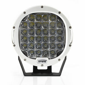 Xprite White 9 96w Driving Spot Cree Led Work Light Offroad Round Lamp For Utv