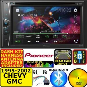 95 02 Gm Truck suv Dvd Cd Usb Touchscreen Bluetooth Double Din Car Stereo Radio