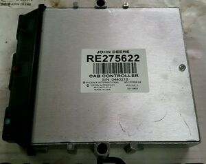 John Deere New Oem Tractor Ecu Part Re275622 Ivt Cab Control Unit Ccu