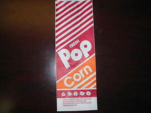 Popcorn Bags 1000 10 1 5oz Great Size new