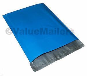 5000 6x9 Blue Poly Mailers Shipping Envelopes Couture Boutique Quality Bags