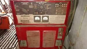 Lincoln Multi purpose Welder R3s 325 Idealarc With Mig Welder And Accessories