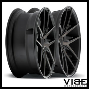 19 Niche Targa Machined Concave Staggered Wheels Rims Fits Acura Tsx