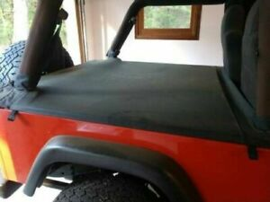 2004 2006 Jeep Wrangler Unlimited Tonneau Tonno Deck Cover In Black