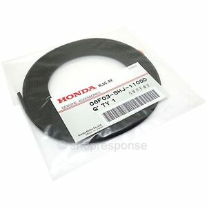 Oem Honda Front rear Lip Spoiler Rubber Molding Strip Trim Black 08f03 shj 1100d