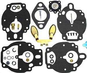 Carburetor Kit With Float For Continental Engine F163 In Fork Lift Truck 13501