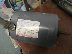 Magnetek Century Electric Motor 8 165724 01 1 2hp 1140rpm J56 Frame Used