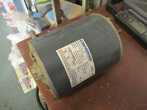 Marathon Ac Motor 003313902 1 2hp 1140rpm 56z Frame 208 230 460v 3ph Used