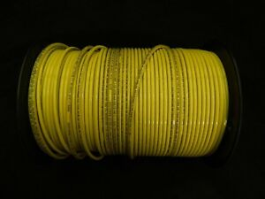 10 Gauge Thhn Wire Stranded Yellow 100 Ft Thwn 600v Building Machine Cable Awg