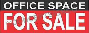 4 x10 Office Space For Sale Banner Outdoor Sign Xl Real Estate Business Realtor