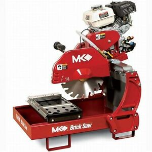 Mk Diamond Mk 2005h Gas Brick Block Saw W honda Gx160 Engine 23469
