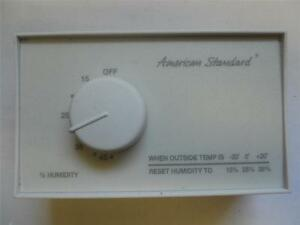 Nos American Standard Manual Humidity Controller Tht02445 4535
