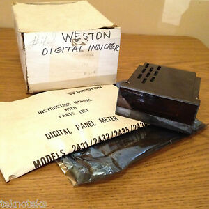 Weston 2432 Bcd 115 230vac Digital Panel Meter