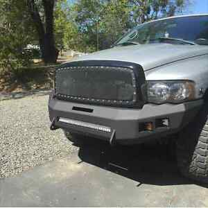 2003 2005 Dodge 2500 3500 Non Winch Front Beauty Bumper