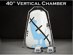 Vertical Hbot Hyper Oxygen Pressure Chamber 40in Summit To Sea Antiaging