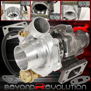 Universal T3 T4 T04e Hybrid Turbo Charger 2 5 Vband Jdm With Internal Wastegate