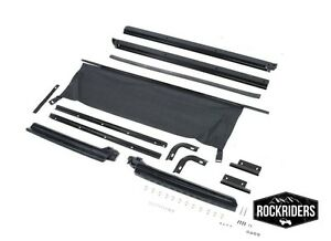 1987 1995 Jeep Wrangler Replacement Soft Top Channel Hardware Kit