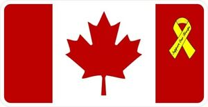 Support Our Canadian Troops Decal Sticker
