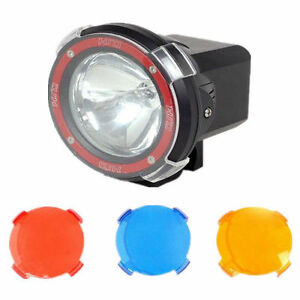 Plastic Lens Cover For 4 7 9 Inch Hid Driving Spotlight Floodlight Offroad Shade