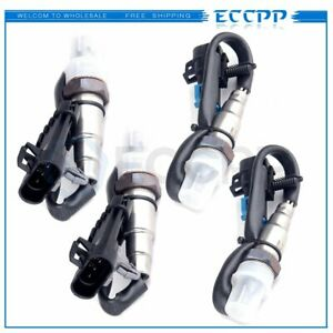 4pcs Upstream Downstream For Chevy Silverado 1500 96 2002 Oxygen O2 Sensor